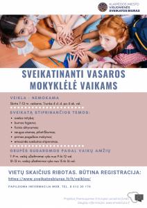 Vaikų vasaros stovykla 2021